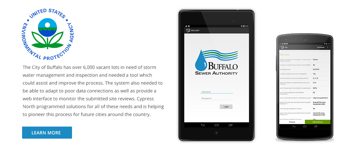 City of buffalo vacant lot app