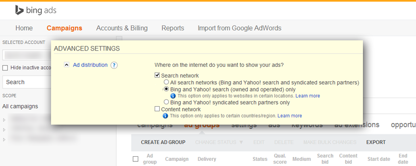 Bing-Ads-Advanced-Settings-Options