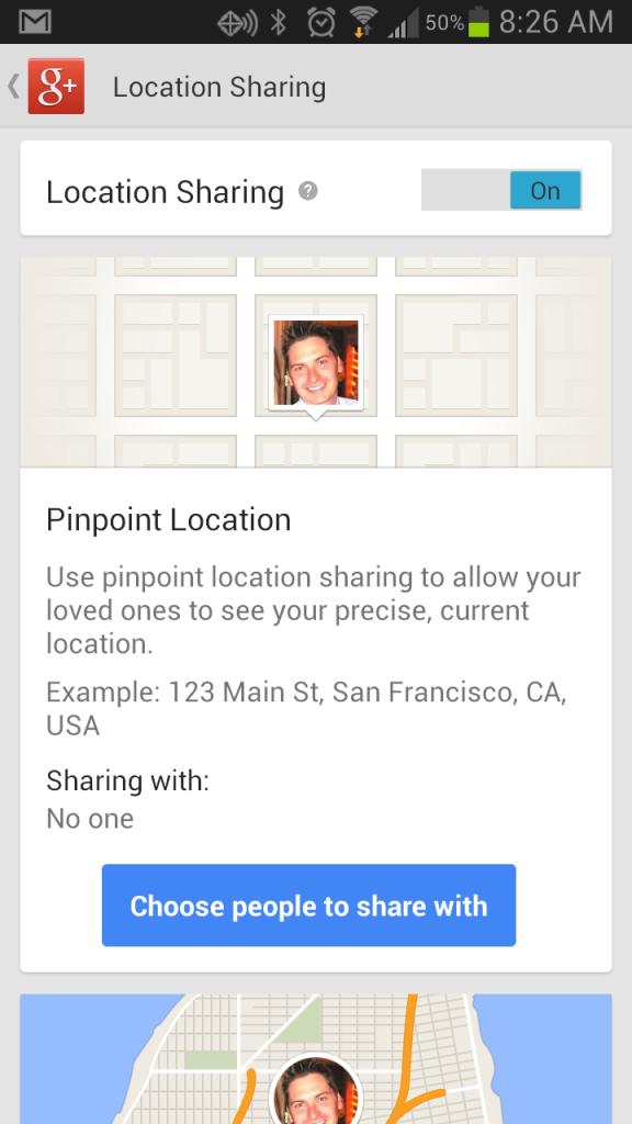 Location-Sharing