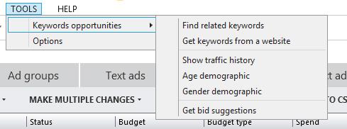 Tools-Keywords