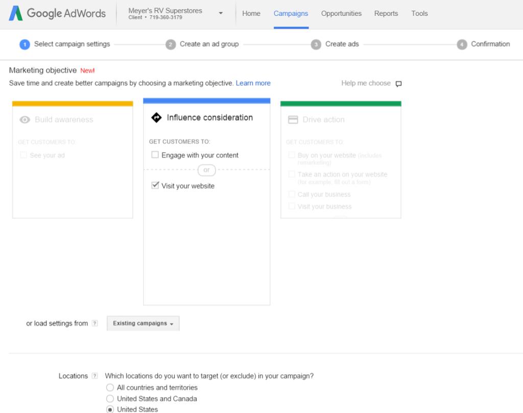 05-Google-Campaign-Setup
