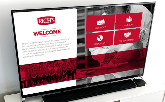 Rich Story Kiosk App